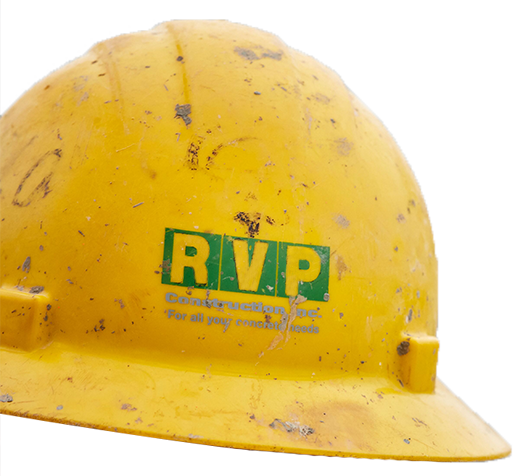 RVP Construction safety hard hat